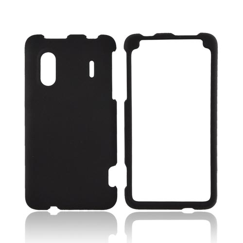 HTC EVO Design 4G Rubberized Hard Case - Black
