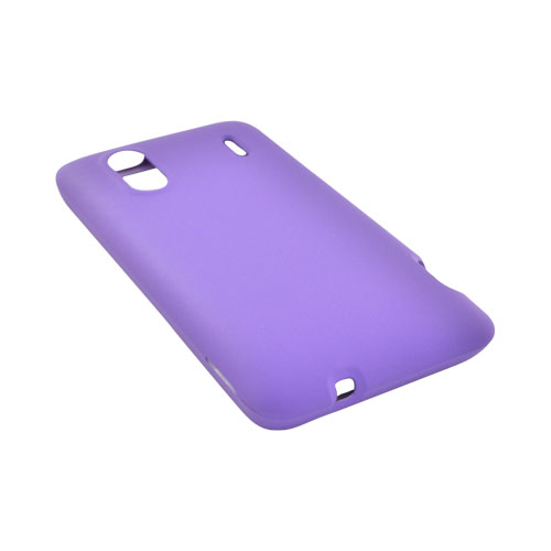 HTC EVO Design 4G Rubberized Hard Case - Purple