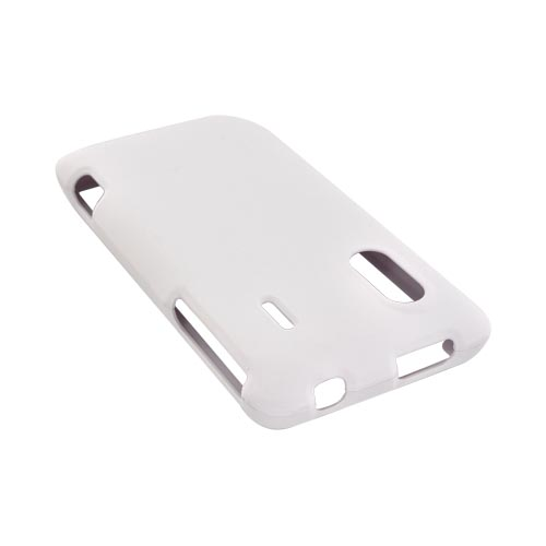 HTC EVO Design 4G Rubberized Hard Case - Solid White