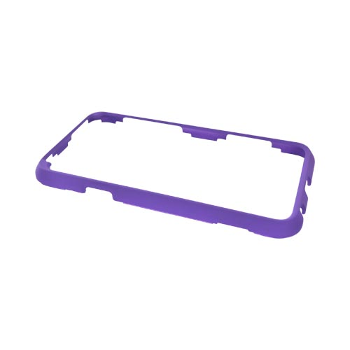 HTC EVO 3D Rubberized Hard Case - Purple
