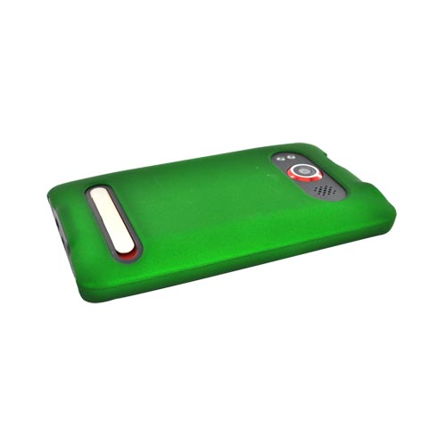 HTC EVO 4G Rubberized Hard Case - Green
