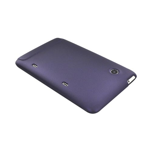 HTC EVO View 4G/ HTC Flyer Rubberized Hard Case - Purple