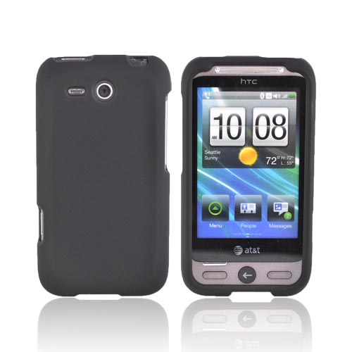 HTC FreeStyle Rubberized Hard Case - Black
