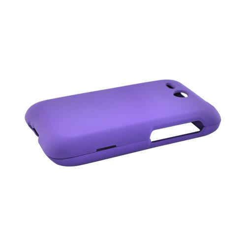 HTC FreeStyle Rubberized Hard Case - Purple