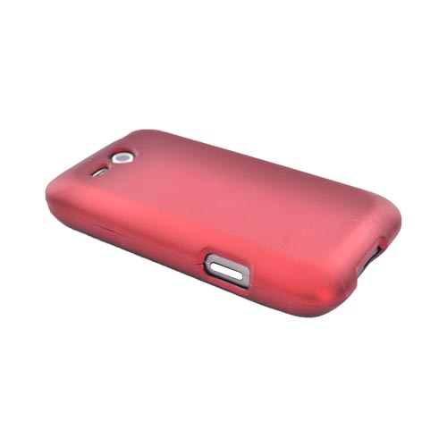 HTC FreeStyle Rubberized Hard Case - Red