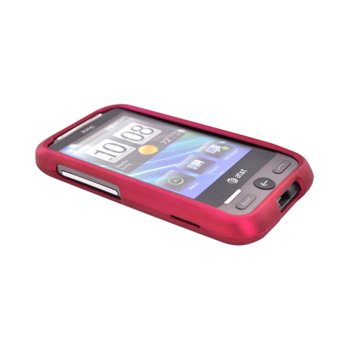 HTC FreeStyle Rubberized Hard Case - Rose Pink