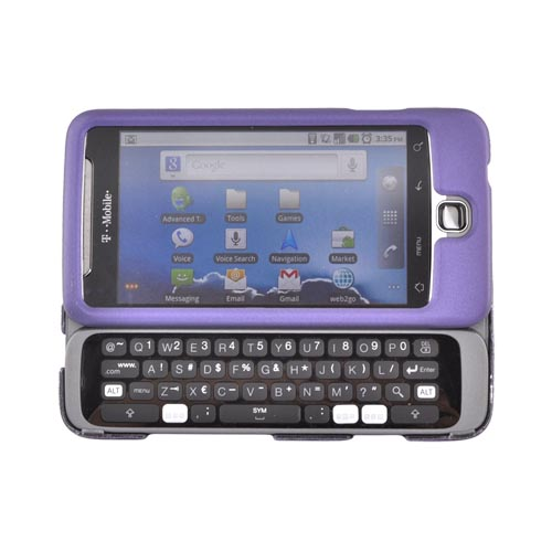 Luxmo T-Mobile G2 Rubberized Hard Case - Purple