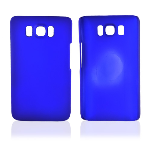 HTC HD2 Rubberized Hard Case - Blue
