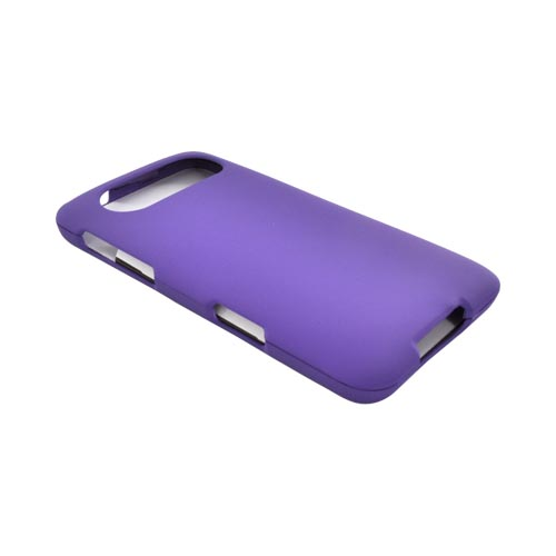 HTC HD7 / HTC HD7s Rubberized Hard Case - Purple