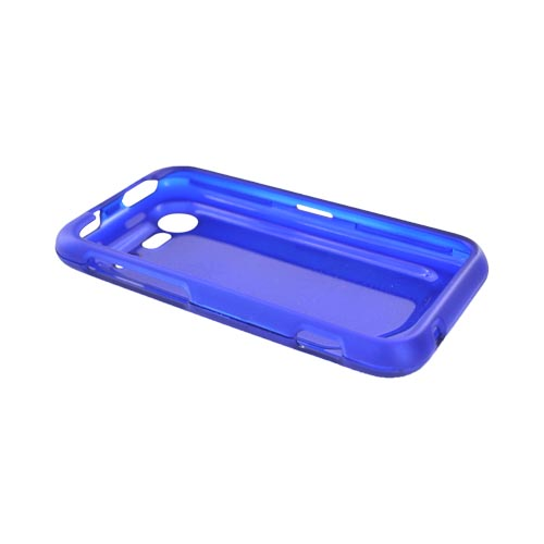 HTC Droid Incredible 2 Rubberized Hard Case - Blue