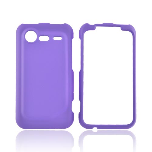 HTC Droid Incredible 2 Rubberized Hard Case - Purple