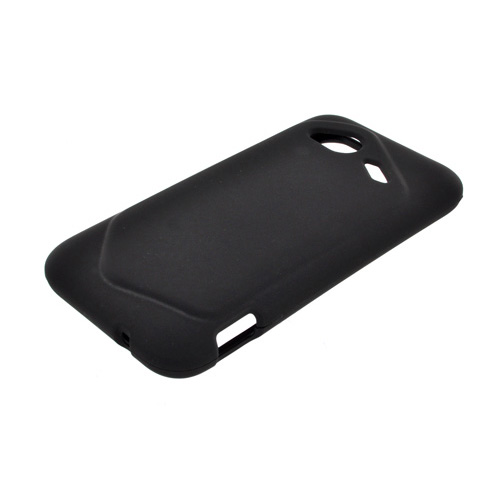 HTC Droid Incredible 4G LTE Rubberized Hard Case - Black