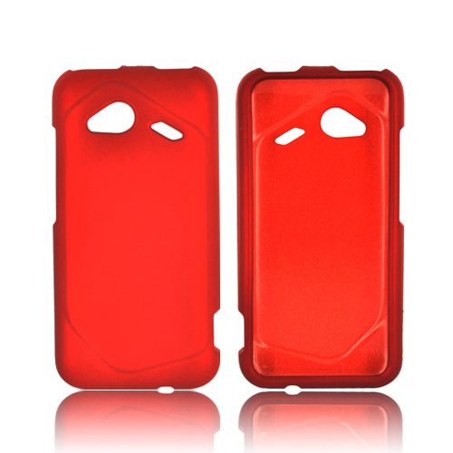HTC Droid Incredible 4G LTE Rubberized Hard Case - Orange