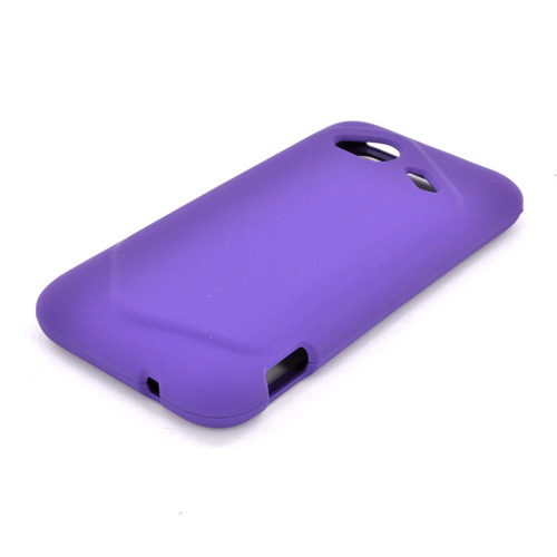 HTC Droid Incredible 4G LTE Rubberized Hard Case - Purple