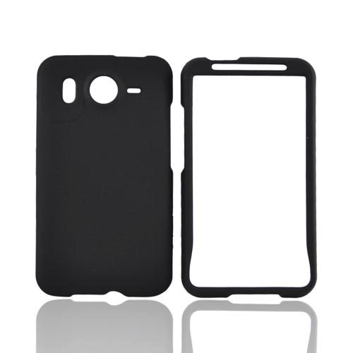 HTC Inspire 4G Rubberized Hard Case - Black