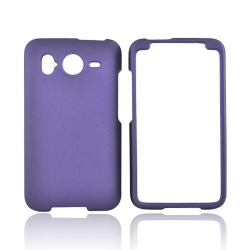HTC Inspire 4G Rubberized Hard Case - Purple