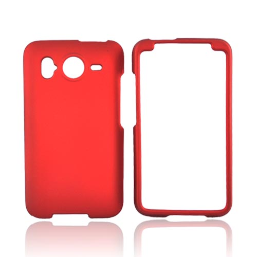 HTC Inspire 4G Rubberized Hard Case - Red