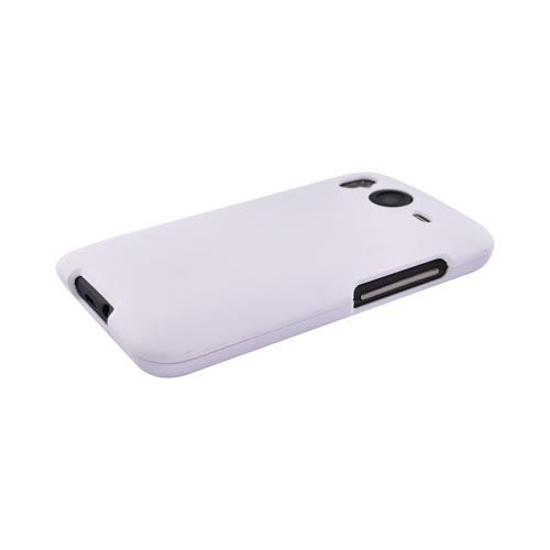 HTC Inspire 4G Rubberized Hard Case - White
