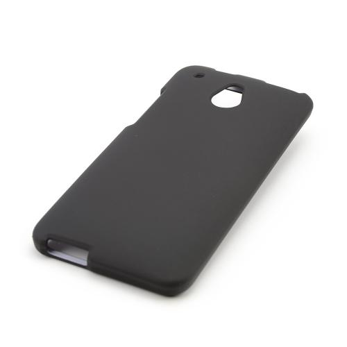 Black Rubberized Hard Case for HTC One Mini