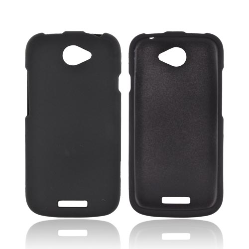 HTC One S Rubberized Hard Case - Black