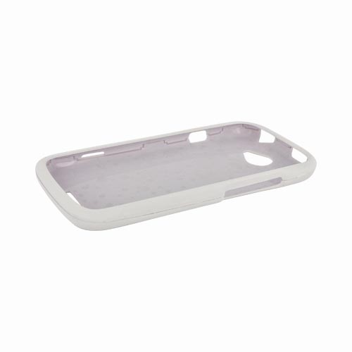 HTC One S Rubberized Hard Case - White