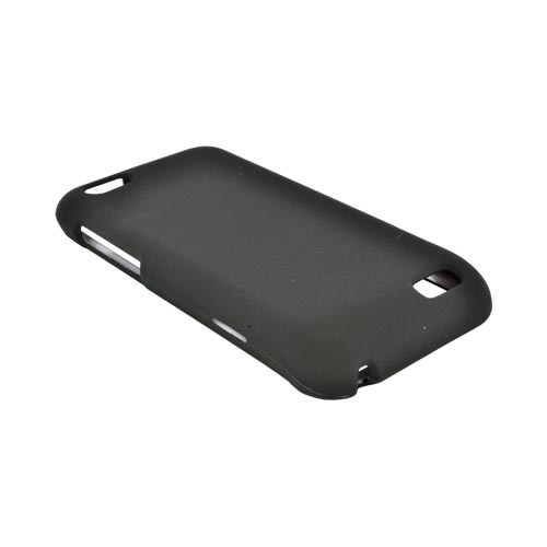 HTC One V Rubberized Hard Case - Black