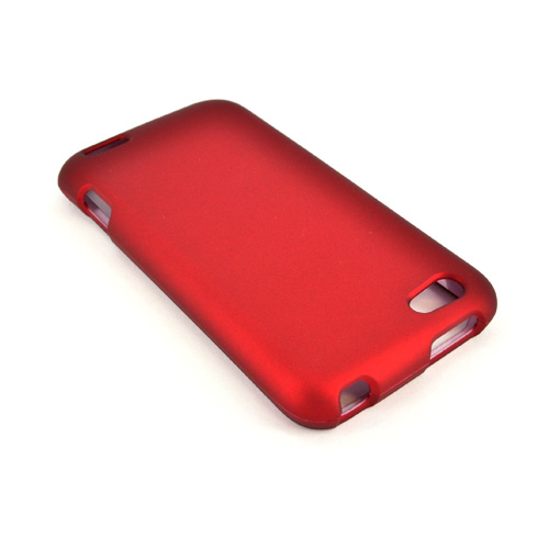 HTC One V Rubberized Hard Case - Red