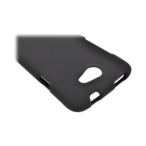 HTC One X Rubberized Hard Case - Black