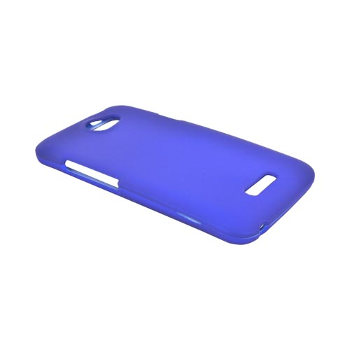 HTC One X Rubberized Hard Case - Blue