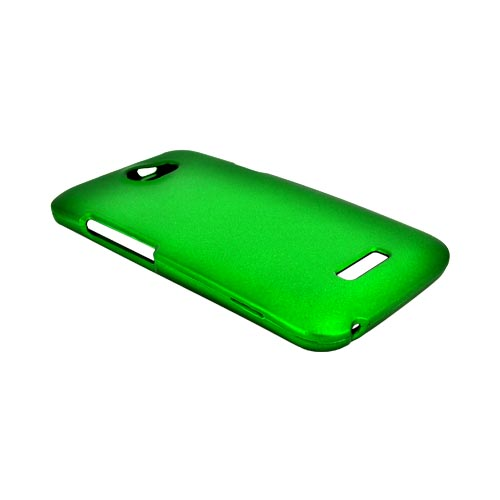 HTC One X Rubberized Hard Case - Green