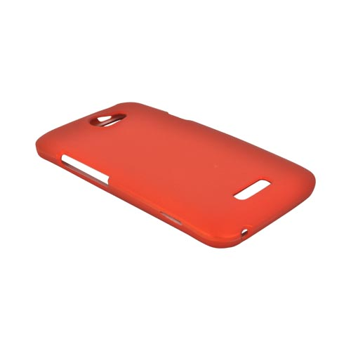 HTC One X Rubberized Hard Case - Orange