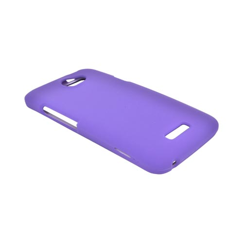 HTC One X Rubberized Hard Case - Purple