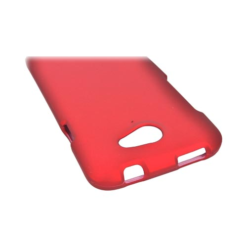 HTC One X Rubberized Hard Case - Red
