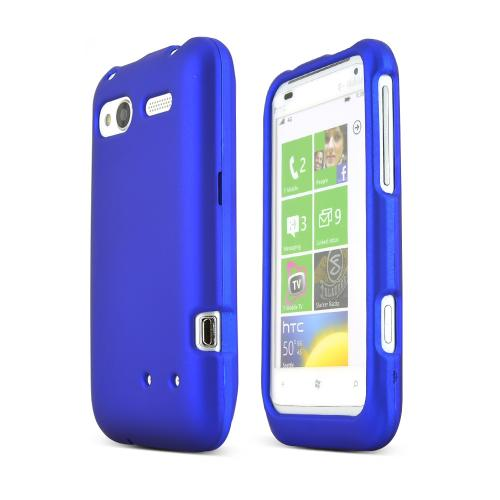 HTC Radar 4G Rubberized Hard Case - Blue
