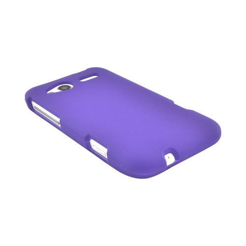 HTC Radar 4G Rubberized Hard Case - Purple