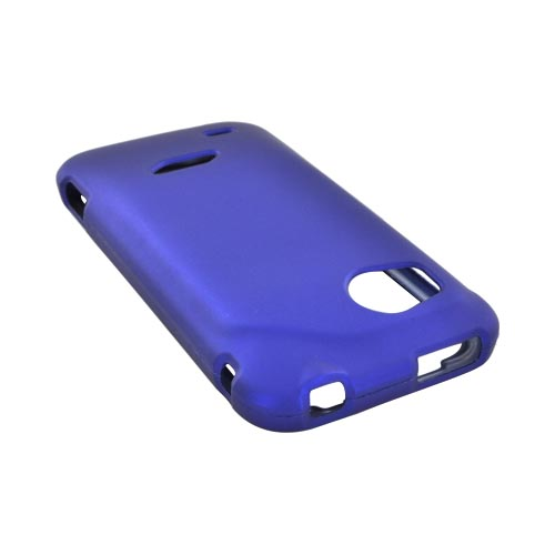 HTC Rezound Rubberized Hard Case - Blue
