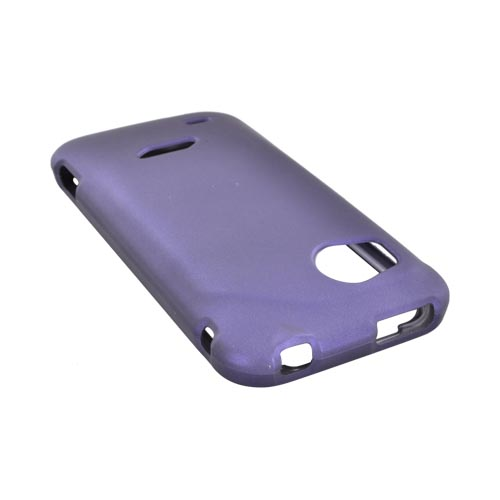HTC Rezound Rubberized Hard Case - Purple