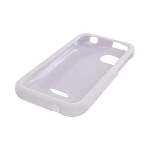 HTC Rezound Rubberized Hard Case - Solid White