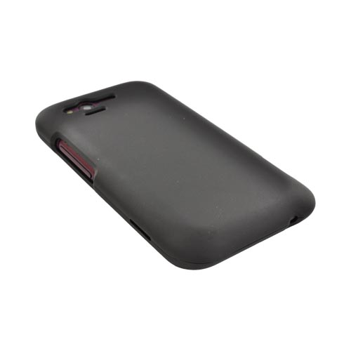 HTC Rhyme Rubberized Hard Case - Black