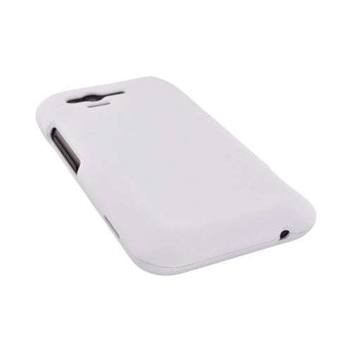HTC Rhyme Rubberized Hard Case - Solid White