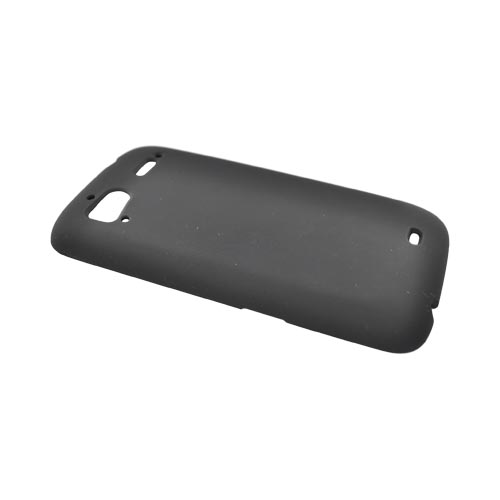 HTC Sensation 4G Rubberized Hard Case - Black
