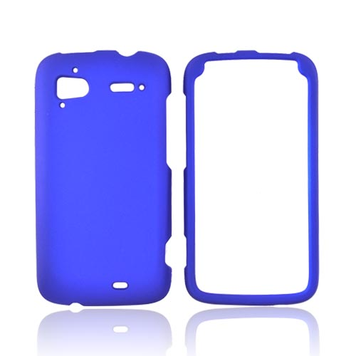 HTC Sensation 4G Rubberized Hard Case - Blue