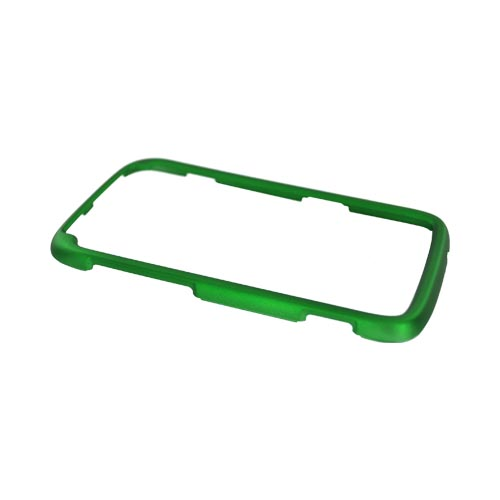 HTC Sensation 4G Rubberized Hard Case - Green