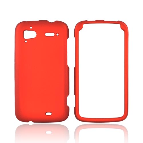 HTC Sensation 4G Rubberized Hard Case - Orange