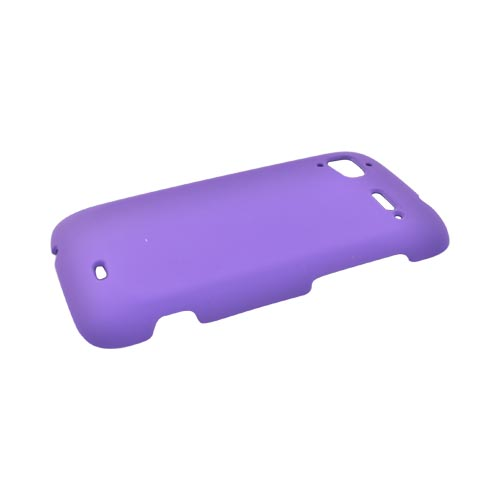 HTC Sensation 4G Rubberized Hard Case - Purple