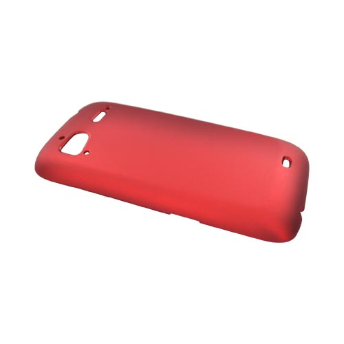 HTC Sensation 4G Rubberized Hard Case - Red