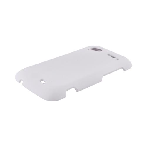 HTC Sensation 4G Rubberized Hard Case - White
