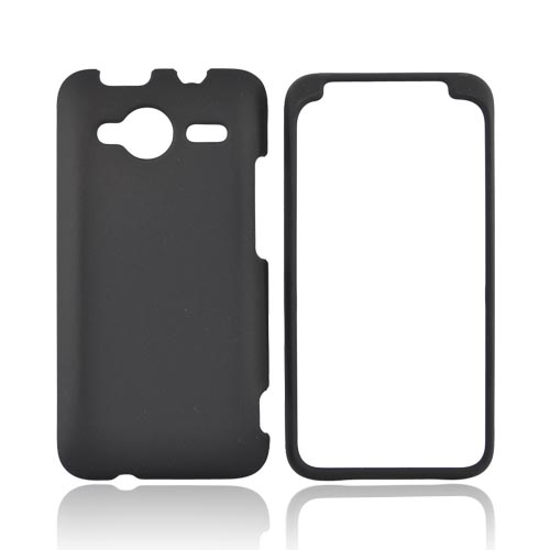 HTC EVO Shift 4G Rubberized Hard Case - Black