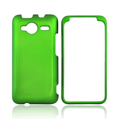 HTC EVO Shift 4G Rubberized Hard Case - Green