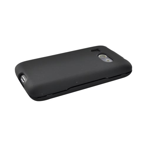 HTC Surround T8788 Rubberized Hard Case - Black